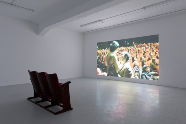 "I Feel Your Pain (A Performa Commission), Liz Magic Laser, 2011, performance and single-channel video, installation view ""Bitter Sweet Symphony"" (2013), Künstlerhaus Bremen, Germany."