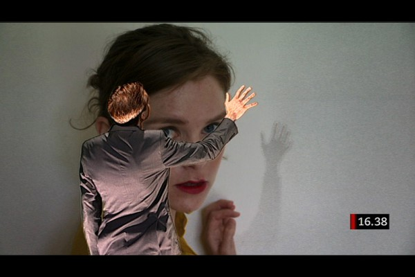 In Camera, Liz Magic Laser, 2012, a Malmö Konsthall commission, five-channel video, 121 minutes, video still. Featuring actor Maria Lindh.