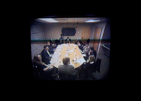 The Armory Show Focus Group (Focus Group Monitor), Liz Magic Laser, 2013.